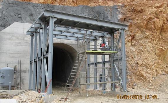 Nadzor nad izgradnjom tunela