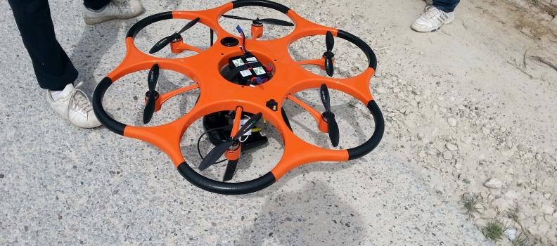 Geodetsko snimanje DRON-om