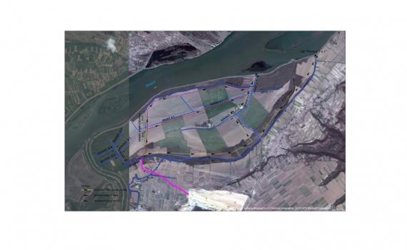 Nadzor nad izgradnjom obodnog kanala na PK Drmno